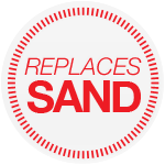 Replaces Sand
