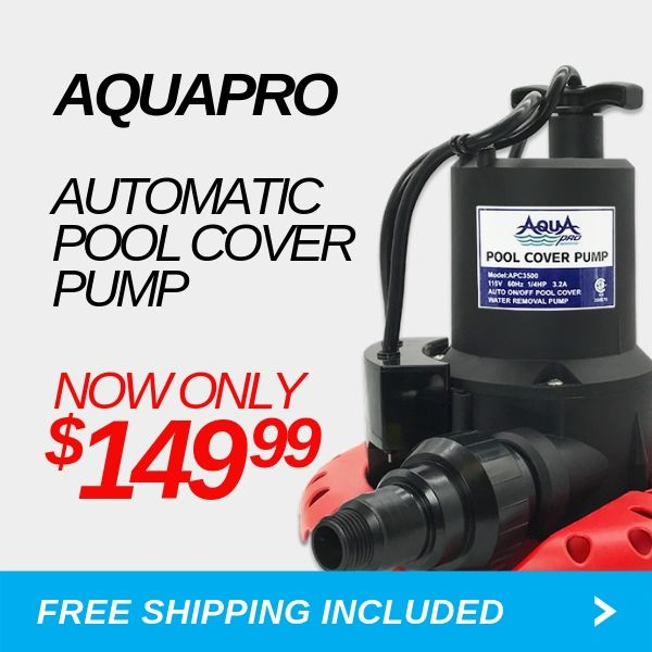 AquaPro Automatic Pool Cover Pump - Shop Now