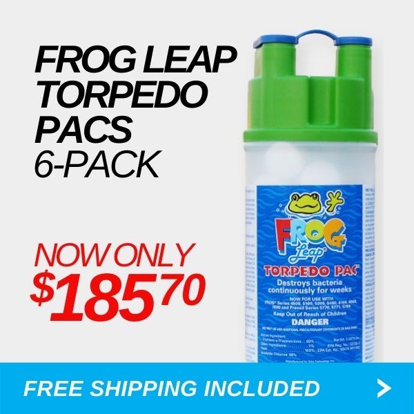 Pool Frog Leap Torpedo Pac - 6 Pack