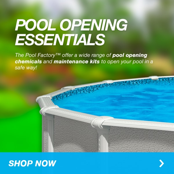 Above Ground Pool Opening Essentials
