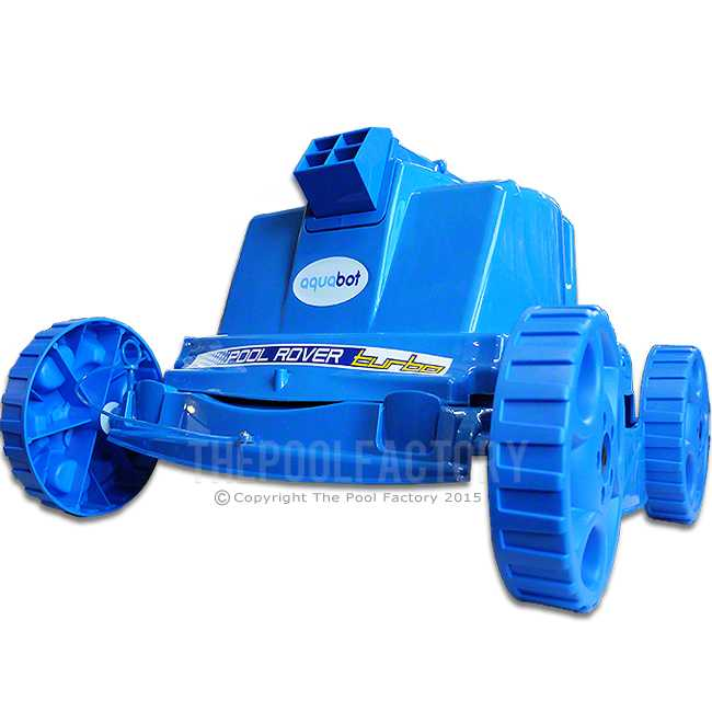 Aquabot Pool Rover Turbo Robotic Jet Pool Cleaner Abprvt