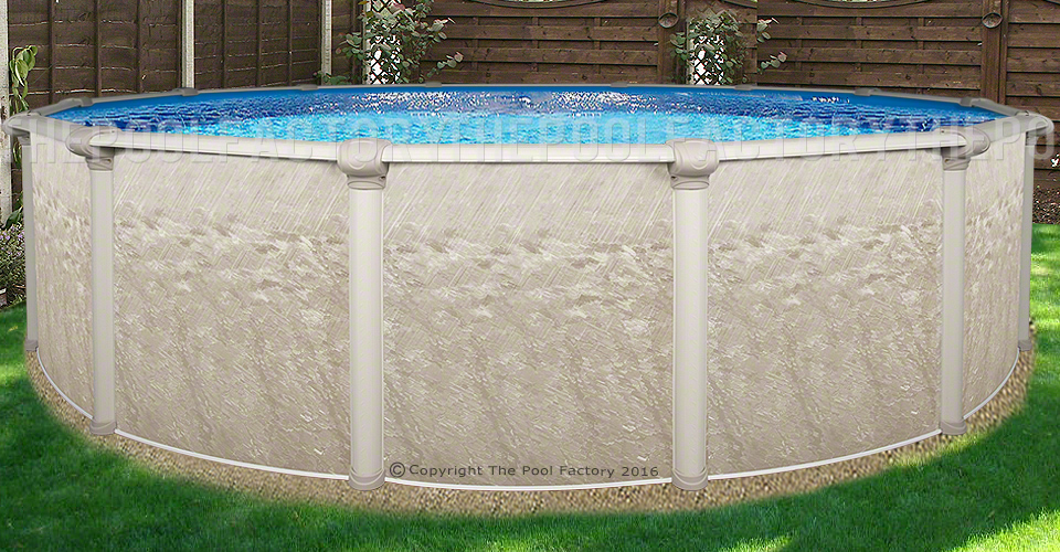 18 X52 Quot Cameo Round Pool Round Above Ground Pools