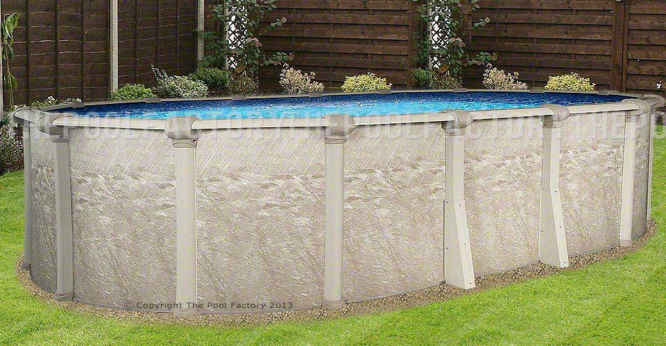 8 X12 X52 Quot Cameo Oval Pool