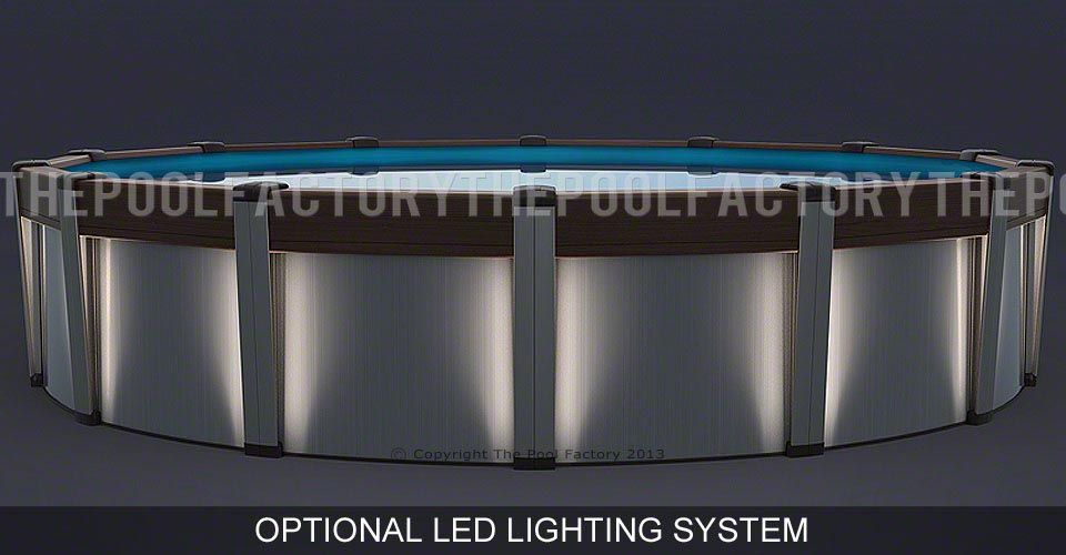 Contempra Round Pool with Optional Lighting System