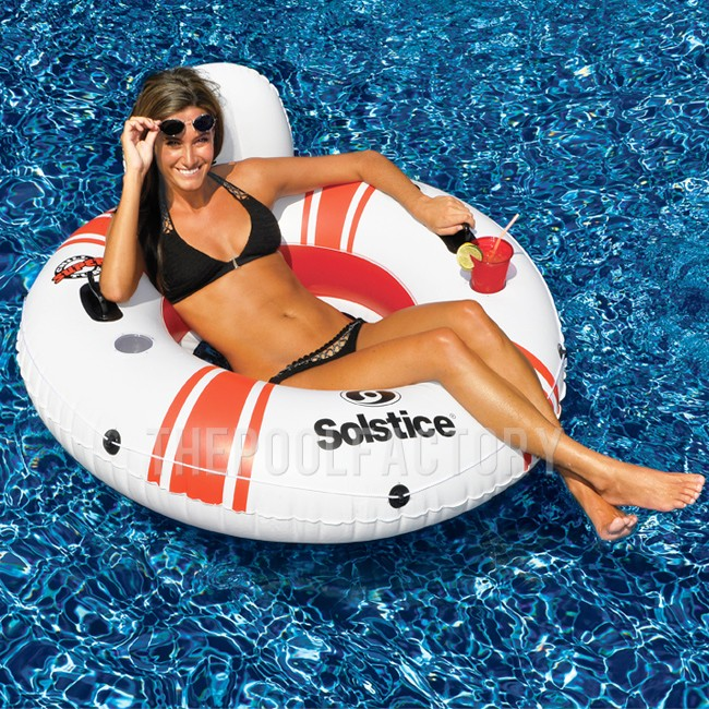 """Swimline Solstice 52"""" Inflatable Super Chill Tube"""
