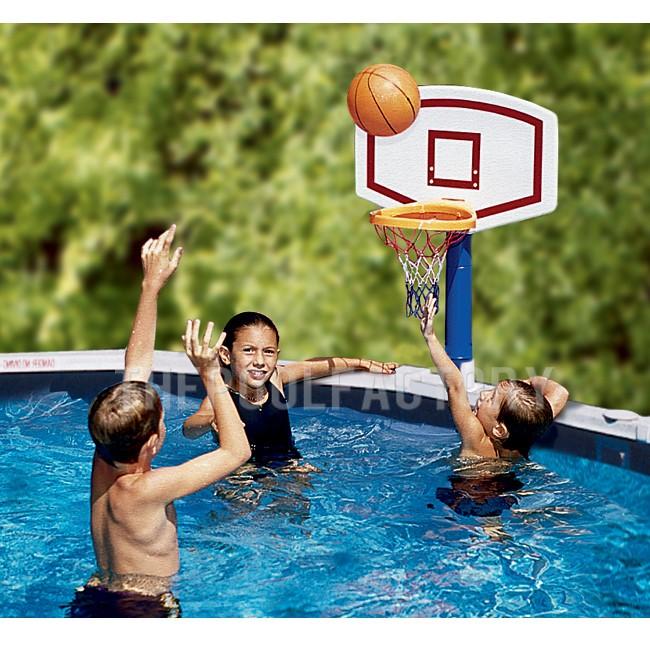Swimline Jammin Basketball for Aboveground Pools