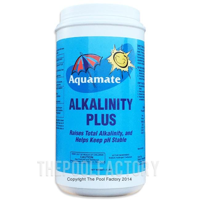 Alkalinity plus 5lbs Swimming pool high alkalinity