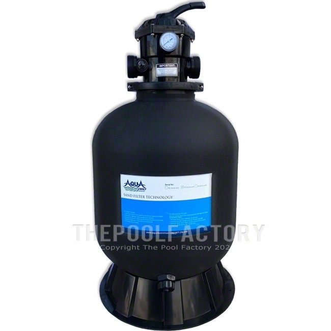 """AquaPro 19"""" Sand Filter Tank with Skirt"""