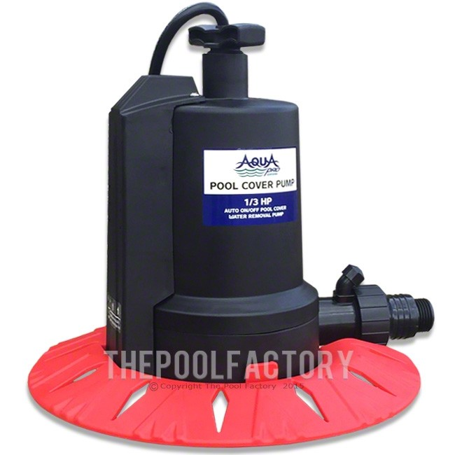 AquaPro 1800 Automatic Pool Cover Pump w/ Leaf Protector