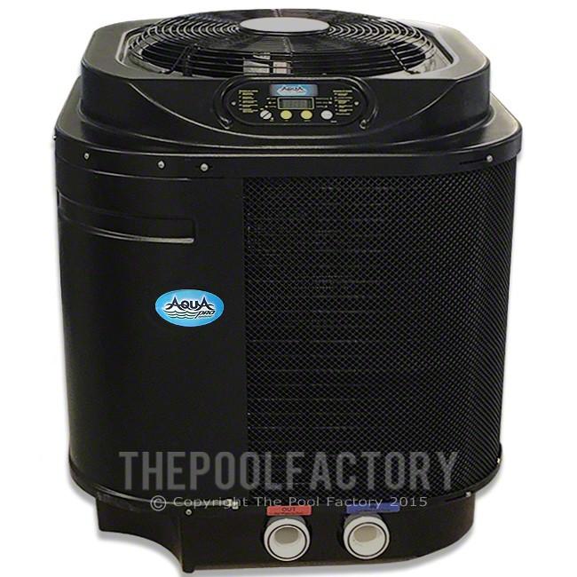 Aquapro pro1100 112k btu electric heat pump - Swimming pool heat pump vs gas heater ...