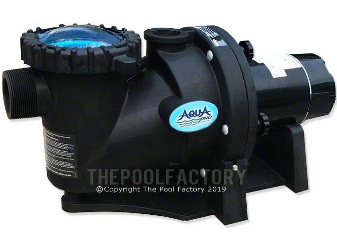 Aquapro Apex Series 1.5 HP Single Speed Inground Pool Pump 115V/230V