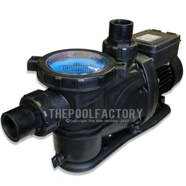 Aquapro 1 5 hp purflow above ground pool pump w tefc motor for Pool pump and motor