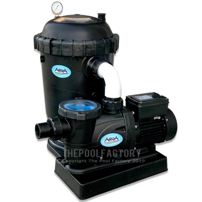 AquaPro DE40 Filter System 1.5-HP 2-Speed Pump 2 Year Warranty