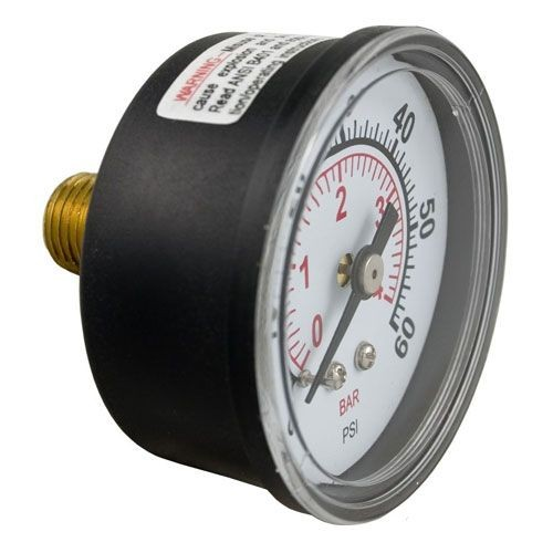 Back Mount Pressure Gauge
