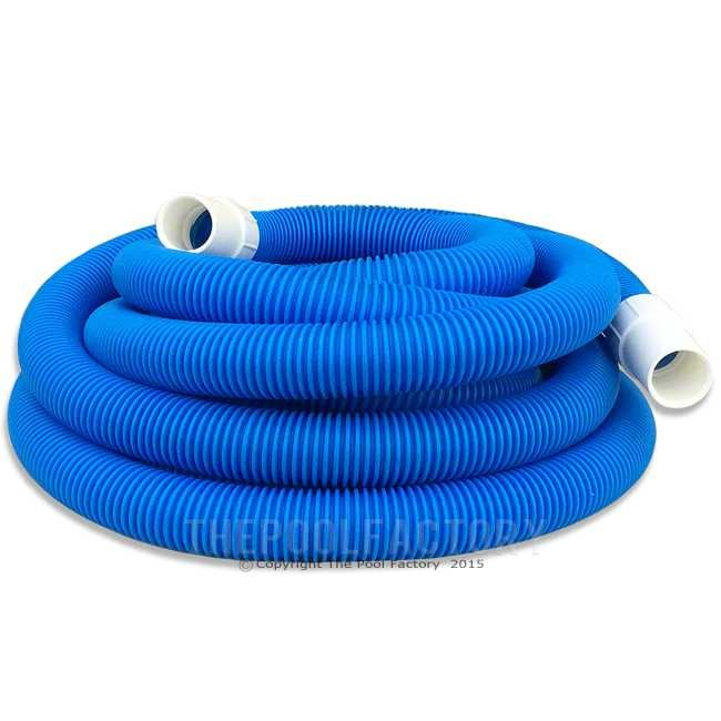 "Inground Pool Vacuum Hose 1-1/2"" x 35ft"