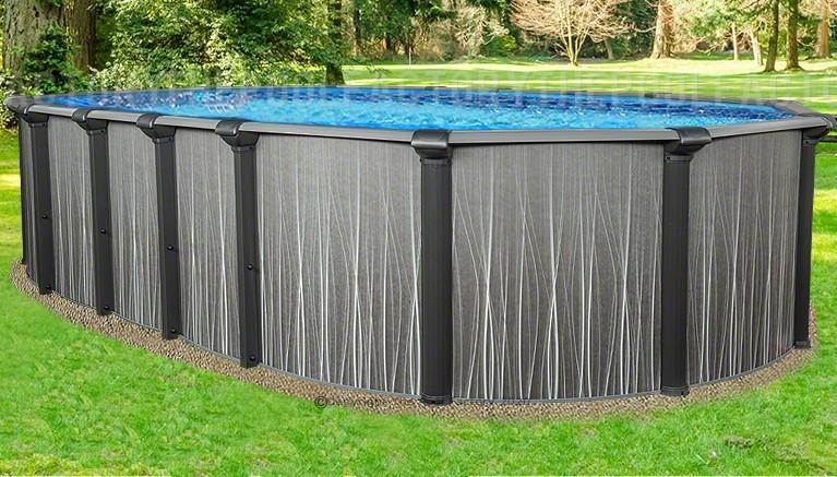 "18'x33'x52"" Boreal Oval Pool"