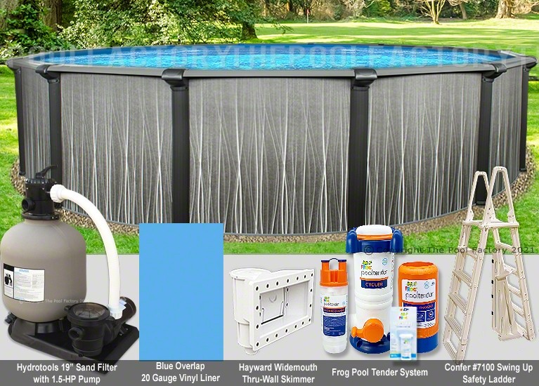 """24'x52"""" Boreal Round Pool Package"""