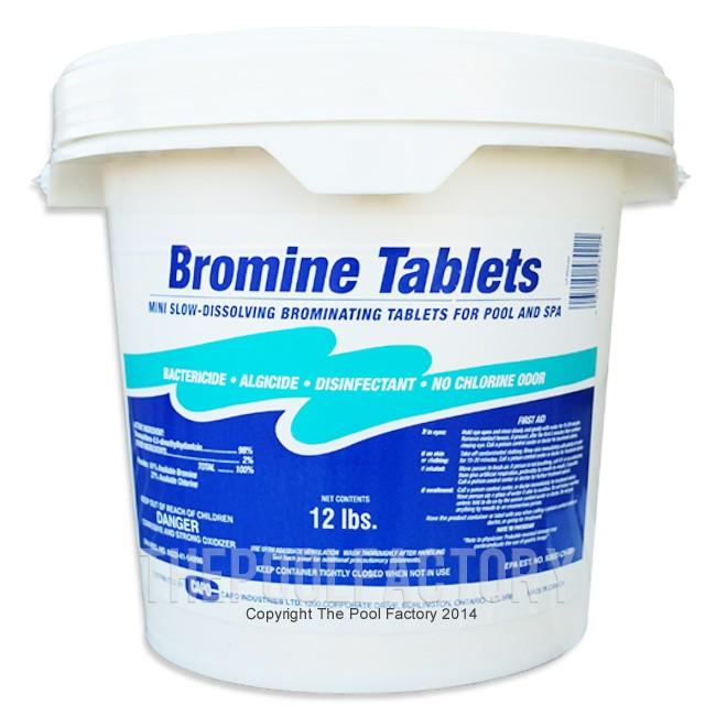 Bromine Tablets 12lbs