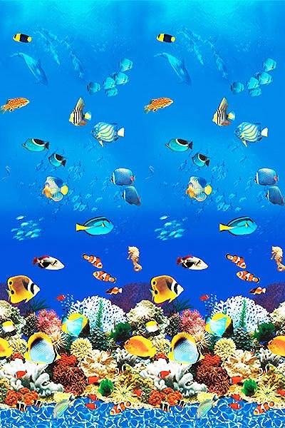 """21'x48"""" Round Uni-Bead Aquarium Liner - 25 Gauge"""