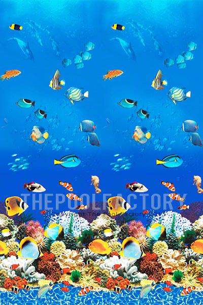 """27'x48"""" Round Uni-Bead Aquarium Liner - 25 Gauge"""