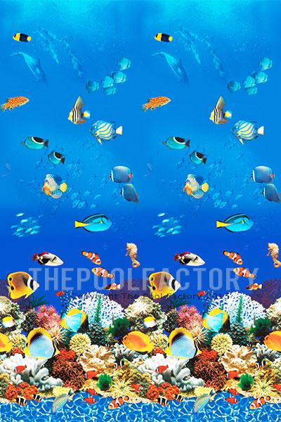 """12'x48"""" Round Uni-Bead Aquarium Liner - 25 Gauge"""