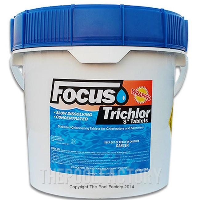 "3"" Chlorine Tablets 20lbs"
