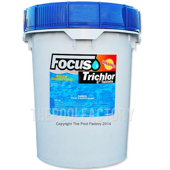 "3"" Chlorine Tablets 40lbs"