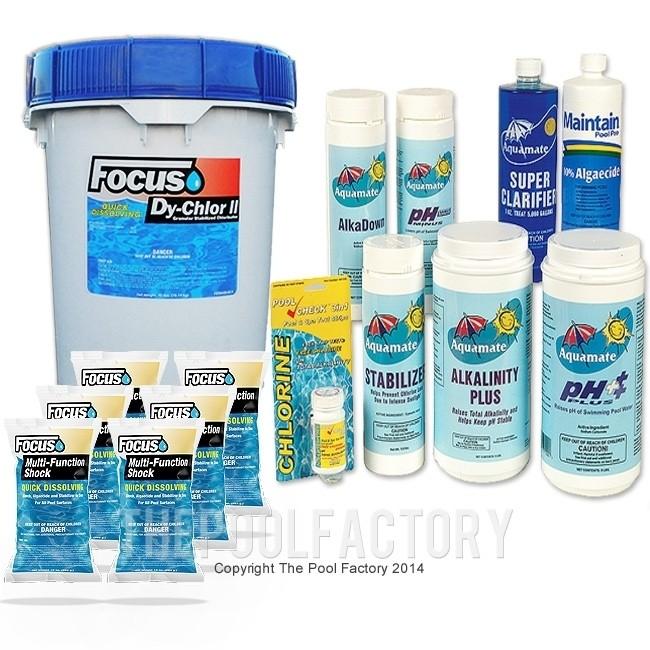 Deluxe Chemical Package #3 (40LB. Granular Chlorine)