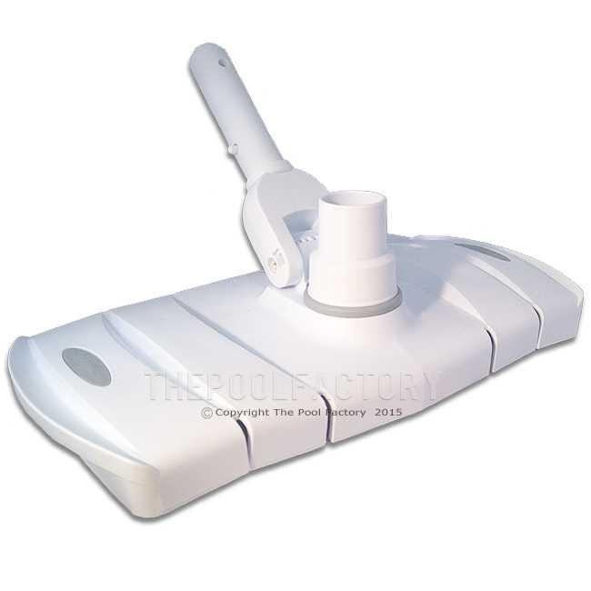 "14"" Flexible Pool Vacuum Head for Concrete/Gunite/Fiberglass"