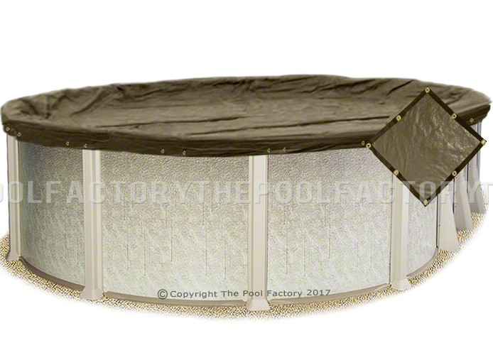 8'x19' Oval Super Heavy XXtreme Winter Cover