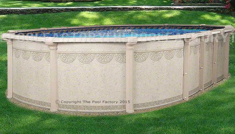 """10'x16'x52"""" Hampton Oval Pool"""