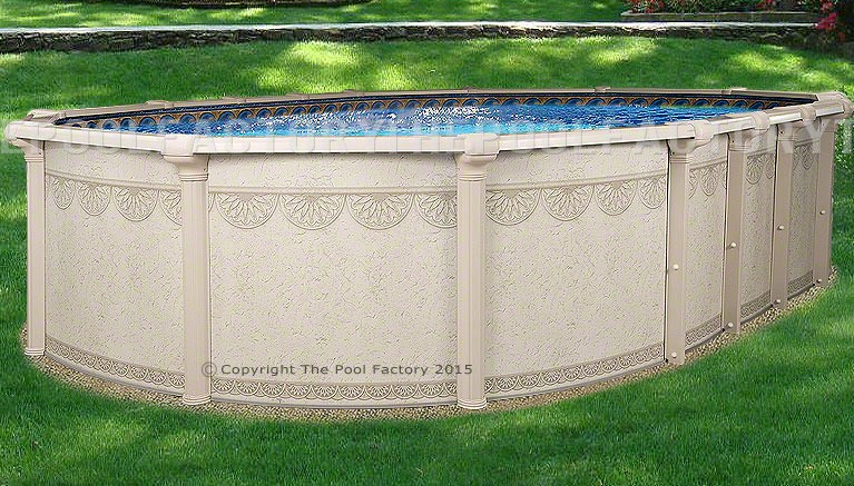 """8'x19'x52"""" Hampton Oval Pool"""