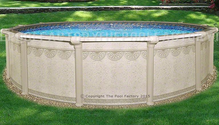 "27'x52"" Hampton Round Pool"