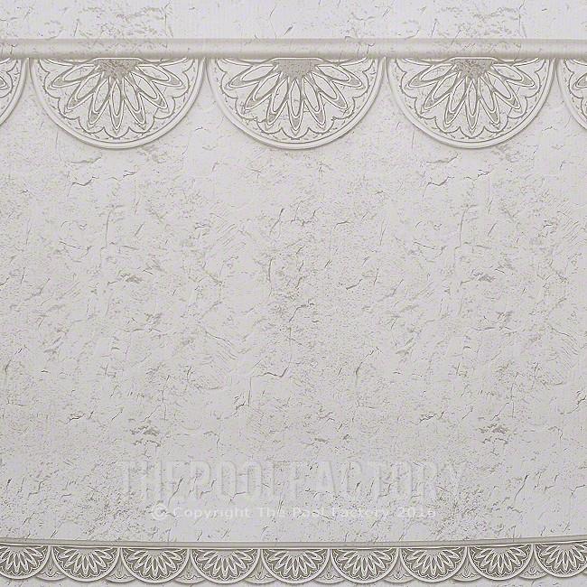 """12'X21'X52"""" Oval Hampton Wall"""