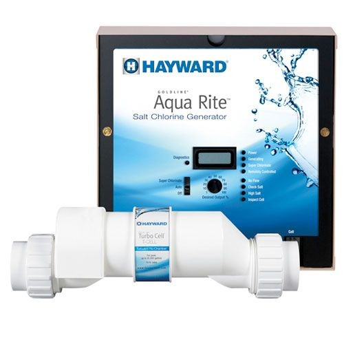 Hayward Aqua Rite Salt Chlorine Generator System - Up To 40K Gallons AQR15