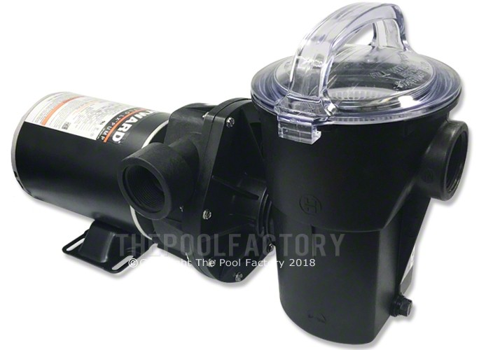 Hayward Power-Flo LX Pump 1.5 HP - Horizontal Discharge