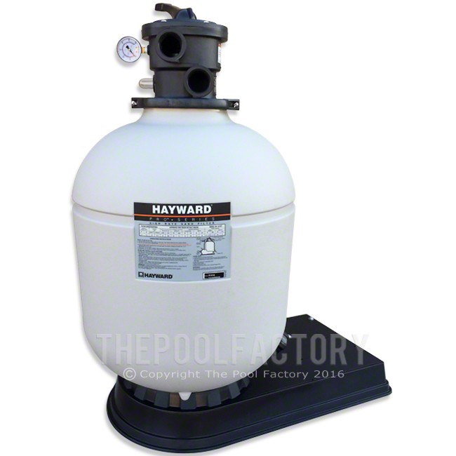 Hayward Pro Series S210T Above Ground Pool Sand Filter with Deluxe Base