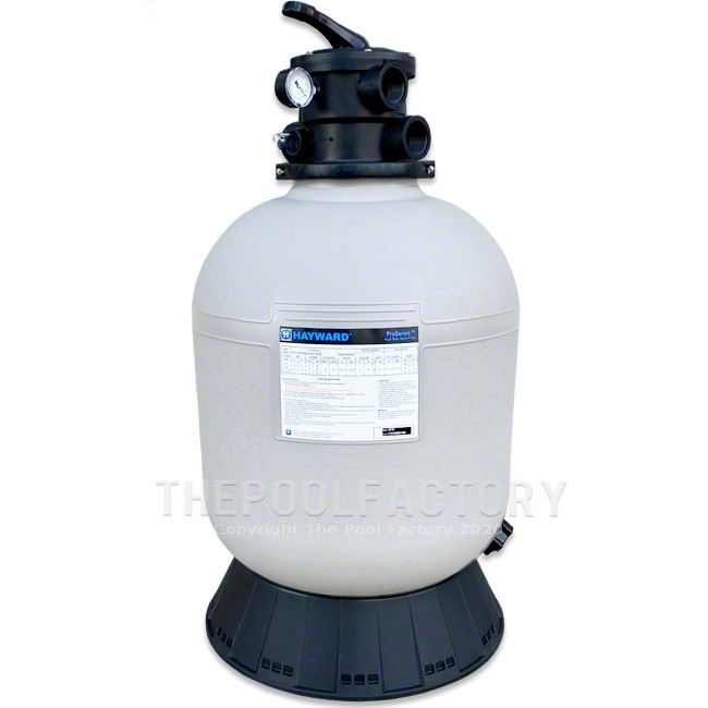 Hayward Pro Series S180T Above Ground Pool Sand Filter Tank with Skirt
