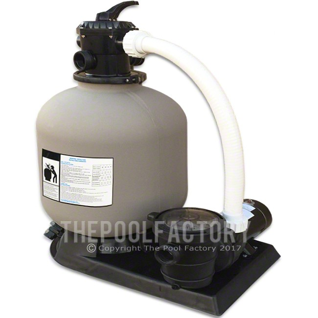 """Hydrotools 24"""" Sand Filter System with 2HP Pump"""