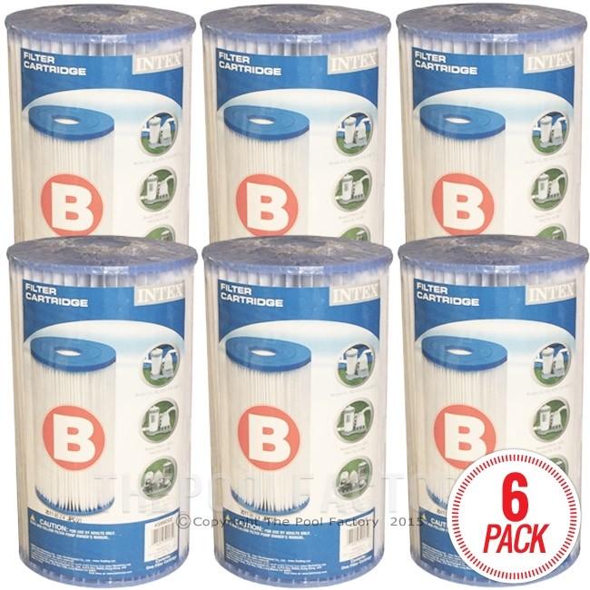 Intex Cartridge B (6-Pack) 59905E