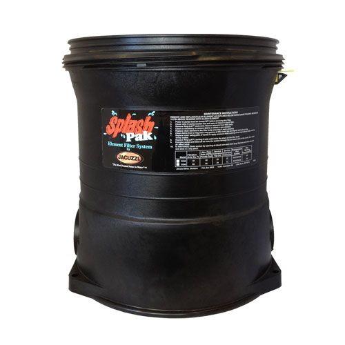 Jacuzzi Splash Pak EF50/EF75 Filter Tank Bottom 42-3621-11-R