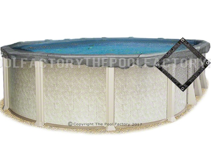 18'x40' Oval Leaf Net Cover