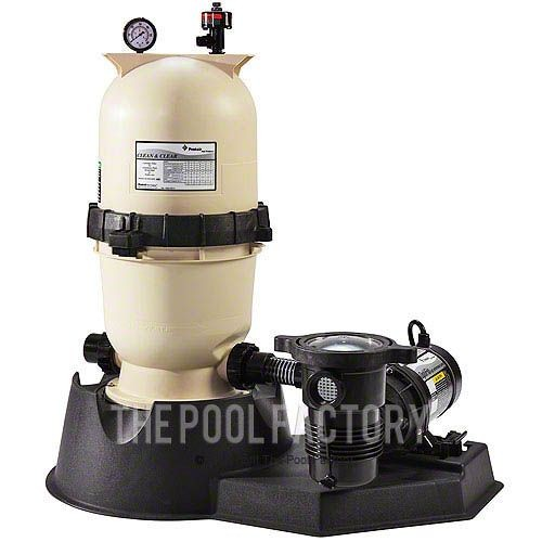 Pentair CC75 Cartridge Filter System 1-HP Opti-Flo Pump