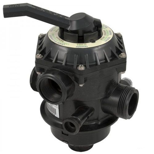 Pentair Sand Dollar 6 Way Top Mount Multiport Valve 262506