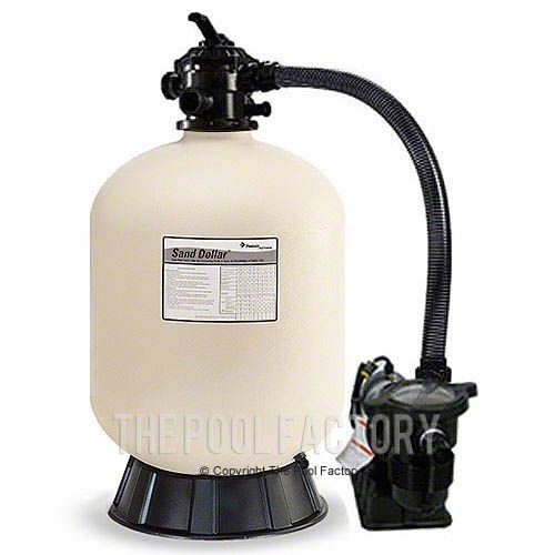 "pentair sd40 19"" sand filter system with 1.5hp opti-flo pump"