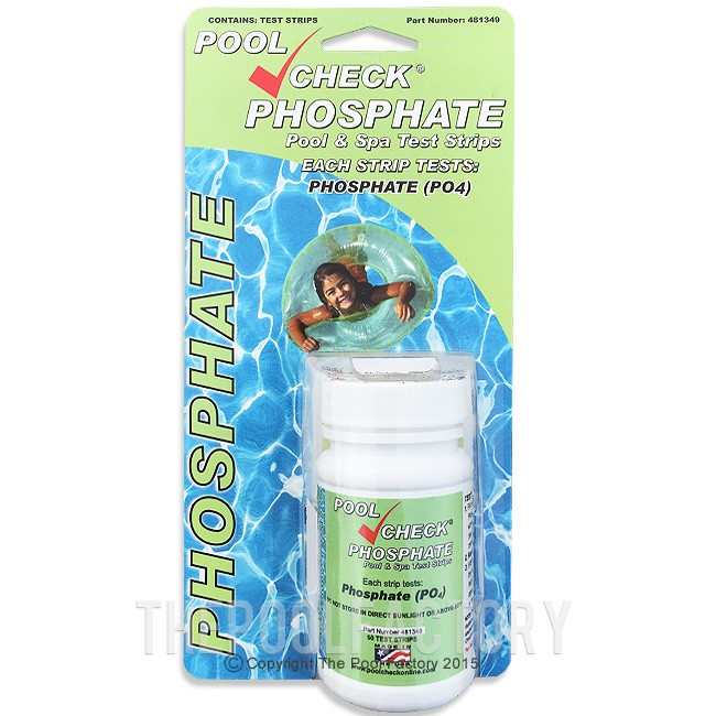 Pool Check Phosphate Test Kit (50 Strips)