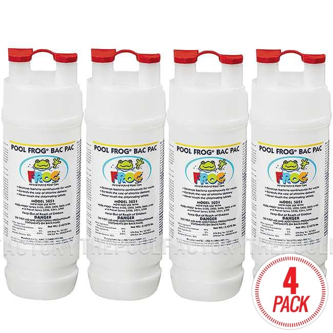 Pool Frog Chlorine Bac Pac - 4 Pack - Model 5051