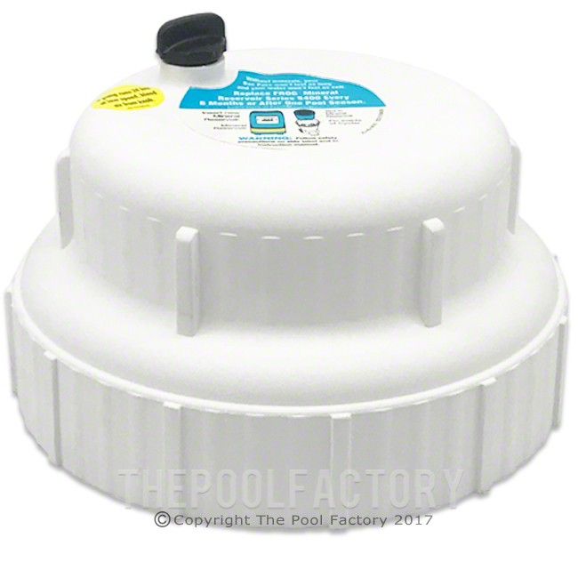 Pool Frog Cover Cap With O-Ring for In-Ground Cycler 5400