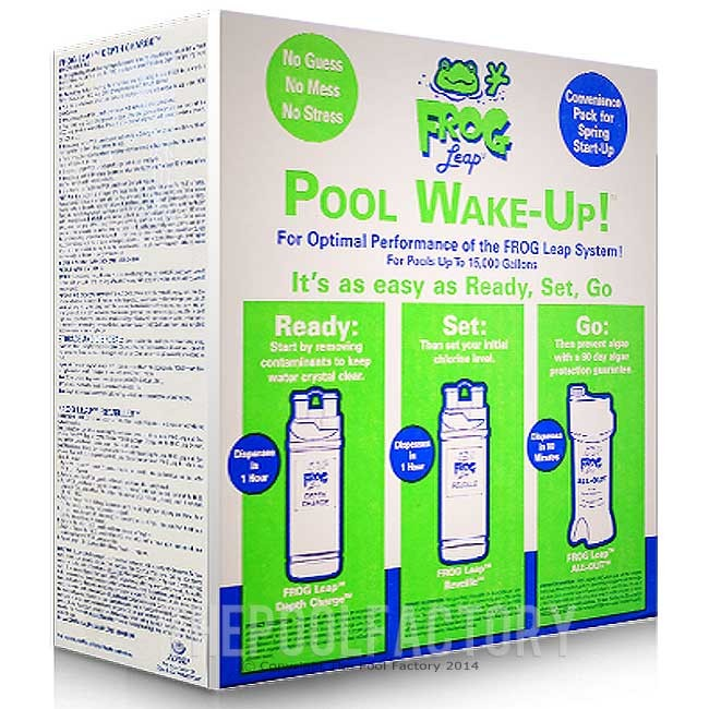 Pool Frog Leap Wake Up Pool Opening Kit