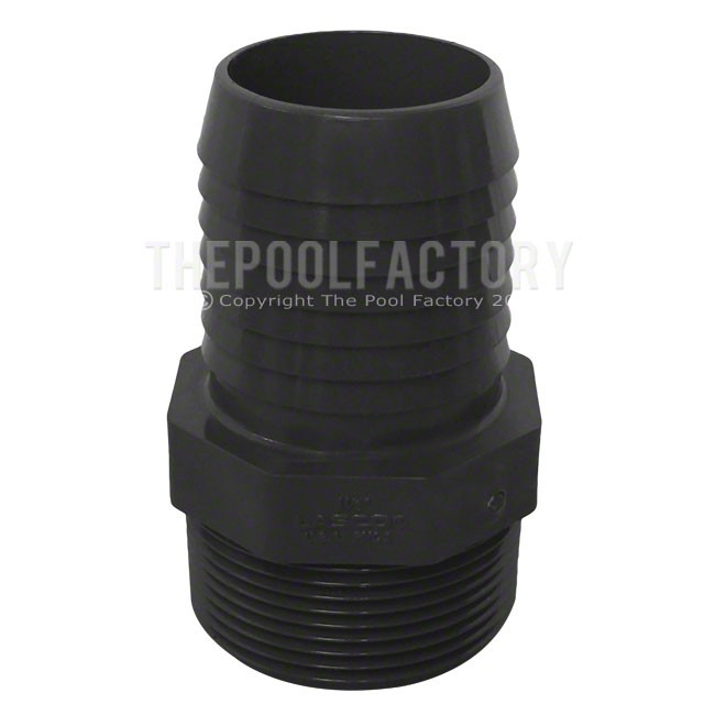 Ribbed Hose Adapter Lasco 1.5""